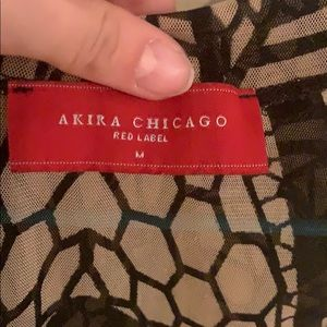 Akira Chicago Red Label Crop Top